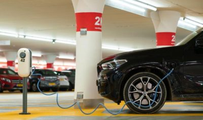 electric vehicle outside